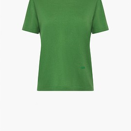 SONIA RYKIEL - Solid-colour wool t-shirt