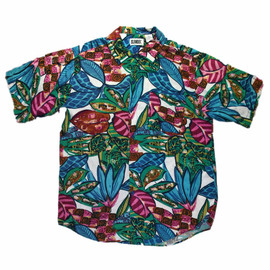 VINTAGE - Vintage 90s Rayon Hawaiian Shirt Mens Size Medium