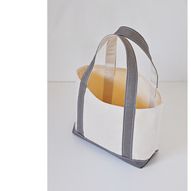 TEMBEA - OPEN TOTE S NATURAL×GRAY
