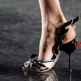 PRADA - PRADA 2012 SS Hot Rod sandal