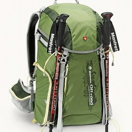 manfrotto - Manfrotto カメラリュック Off road 30L 三脚取付可 レインカバー付属 グリーン MB OR-BP-30GR