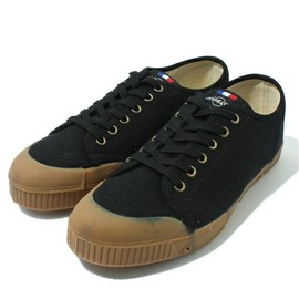 SPRING COURT - G1 LO CUT / BLK × BEG