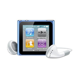 Apple - iPod nano 16GB (Blue)