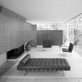 Mies Van der Rohe - Barcelona Chairs & Daybed, ca 1932
