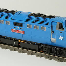 LEGO - Class 55 Deltic train