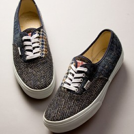 VANS - <VANSforBY>HARRIS TWEED AUTHENTIC/スニーカー