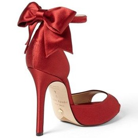 kate spade NEW YORK - bow/red/ 'chrissie' sandal