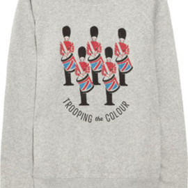 Aubin & Wills  - Aireshire printed cotton-jersey sweatshirt