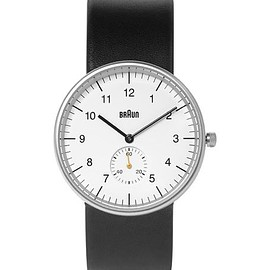 Braun - BN0024 Stainless Steel and Leather Watch