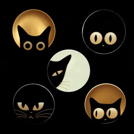 jewel japan - cat eyes plates