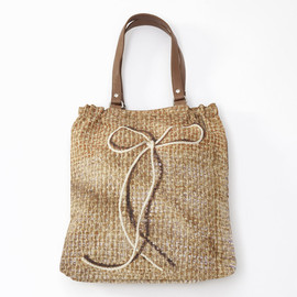 Antoni & Alison - Antoni & Alison - Pretty Hessian Shopper Bag