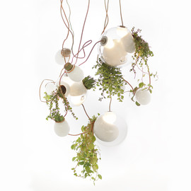 omer arbel - '38 series' planter chandelier