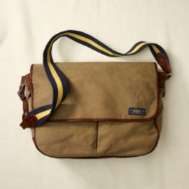 RUGBY RALPH LAUREN - Canvas Messenger Bag