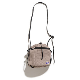 THE NORTH FACE PURPLE LABE - Mesh Bucket Shoulder Bag-BE