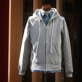 anatomica - ZIP UP SWEAT PARKA