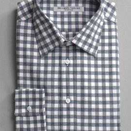 Multi-colored Large Check Shirt - BkT10