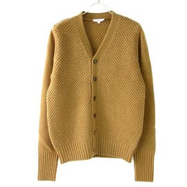 HYKE - PATTERNED KNIT CARDIGAN