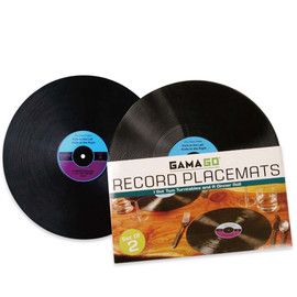 GAMA-GO - Record Placemat
