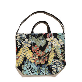 ENGINEERED GARMENTS - Carry All Tote Rug Jacquard-Multi Rainforest