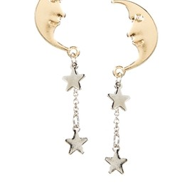 asos - Moon Star Earrings
