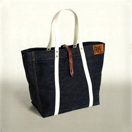 Vintage Canvas & Leather Tote - RRL - RalphLauren