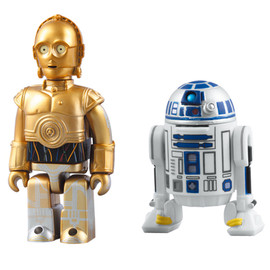 MEDICOM TOY - C-3PO(TM) & R2-D2(TM) 2pc set