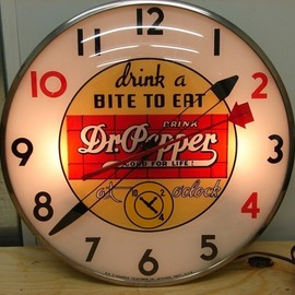 Telechron - Dr. Pepper clock