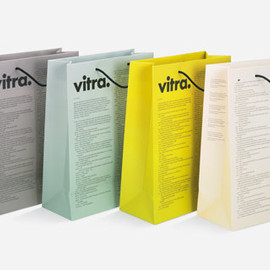 vitra - workspirit 2008 paper bag