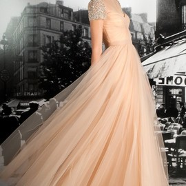 Reem Acra - Coral Dress