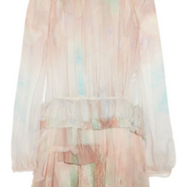 NINA RICCI - Silk-Chiffon Dress