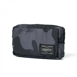 "HEAD PORTER - ""JUNGLE"" CASE (S) BLACK"