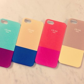 CELINE - bi-color iPhone case