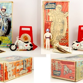 Ideal - Evel Knievel Stunt Cycle
