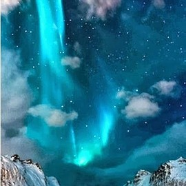 Iceland - Northern lights in Iceland