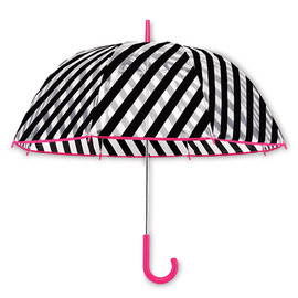 kate spade NEW YORK - Black Stripe Umbrella