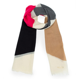 kate spade NEW YORK - ALL WRAPPED UP SCARVES ABSTRACT BOW SCARF