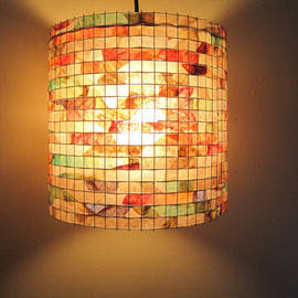 Lampada - COFFEE FILTER ART Chandelier Lighting