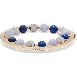 URiBE - Guion gold-plated beaded bracelet