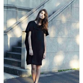 AKIRA NAKA - 2012S/S Black Dress