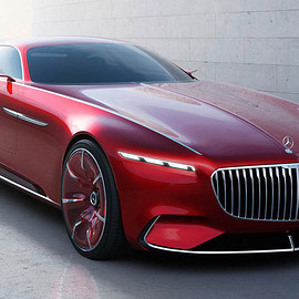 Mercedes Benz - Vision Mercedes-Maybach 6