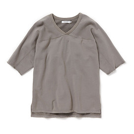 nonnative - TRAINER TEE Q/S COTTON SWEAT OVERDYED