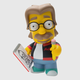 "Kidrobot - The Simpsons ""Matt Groening"" Vinyl Toy"