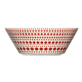 iittala - Kulku Bowl (Red) by Oiva Toikka
