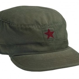 Rothco - Vintage Fatigue Cap with Red Star