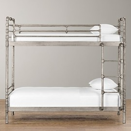Restoration Hardware - Industrial Steel Pipe Bunk Bed