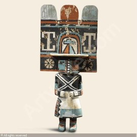 HOPI INDIANS (USA),LARGE KACHINA DOLL,Sotheby's,New York