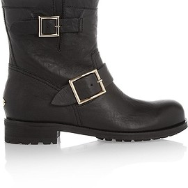 Jimmy Choo - Youth leather ankle boots