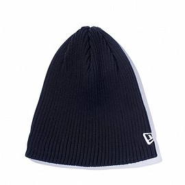 NewEra - Rib Beanie ブラック (made with COOLMAX ® fabric)
