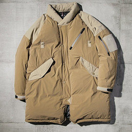 MANUAL ALPHABET×NANGA - M/A PCU DOWN COAT