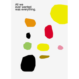 mike mills - All We Ever Wanted  poster
